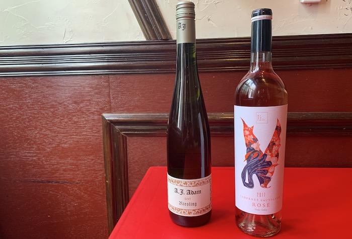 春に飲みたくなるワイン!リースリング  アンドレアス.J.アダム/カンパイ・ワインズ ロゼ ヒノトリ(火の鳥)